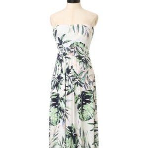 Kismet Palm Print Maxi Dress